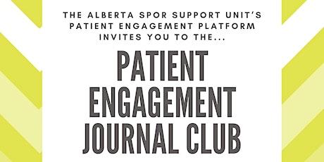TO BE DISCARDED: AbSPORU Patient Engagement Platform Journal Club tickets