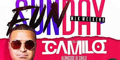 Sunday Funday MLK Weekend DJ Camilo Live At The Lobby tickets