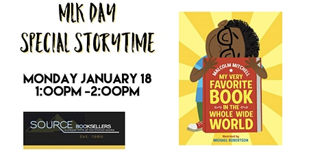 Source Booksellers Presents: MLK Day Story Time tickets