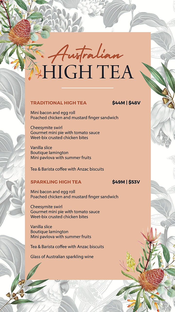 Australian High Tea image