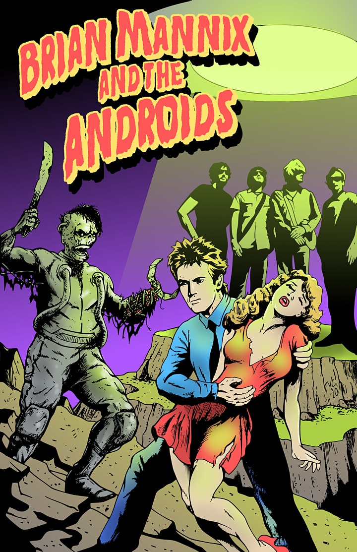 Brian Mannix & The Androids! image