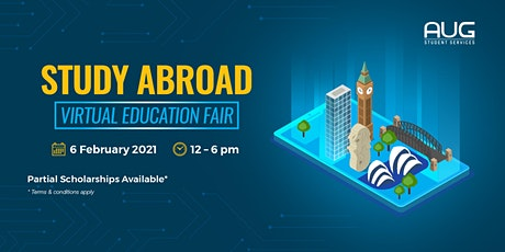 STUDY ABROAD - Virtual Education Fair 2021 tickets