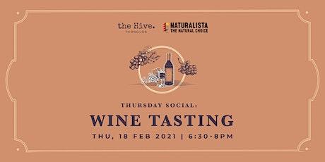 Thursday Social: Wine Tasting tickets
