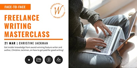 Freelance Writing Masterclass with Christine Jackman tickets