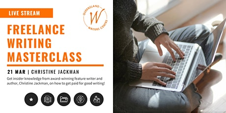LIVE STREAM: Freelance Writing Masterclass with Christine Jackman tickets