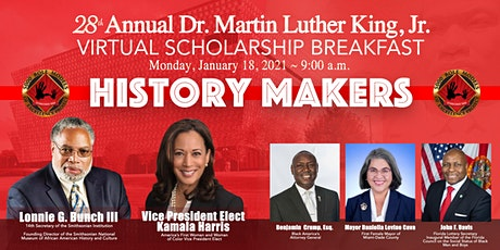 28th Annual Dr. Martin Luther King, Jr. Virtual Scholarship Breakfast tickets