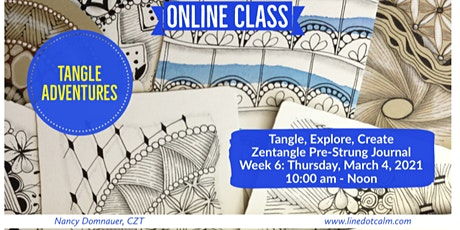 Zentangle® Tangle Adventures on Thursday, March 4 tickets