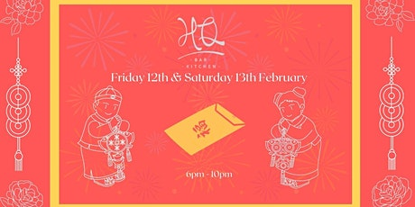 Chinese New Year at HQ Bar & Kitchen tickets