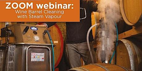Virtual Demonstration: How Steam Kills Brettanomyces in Wine Barrels tickets