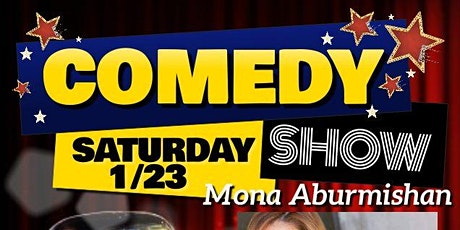 Comedy Show With Mona Aburmishan & Friends @Brauer House (Lombard, IL) tickets