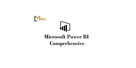 Microsoft Power BI Comprehensive 2 Days Virtual Live Training in Ottawa tickets