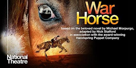 National Theatre  Live  - War Horse tickets