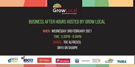 Grow Local Business After Hours tickets