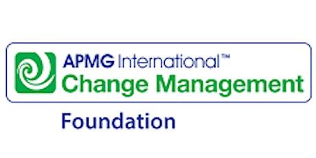 Change Management Foundation 3 Days Training in Wellington tickets