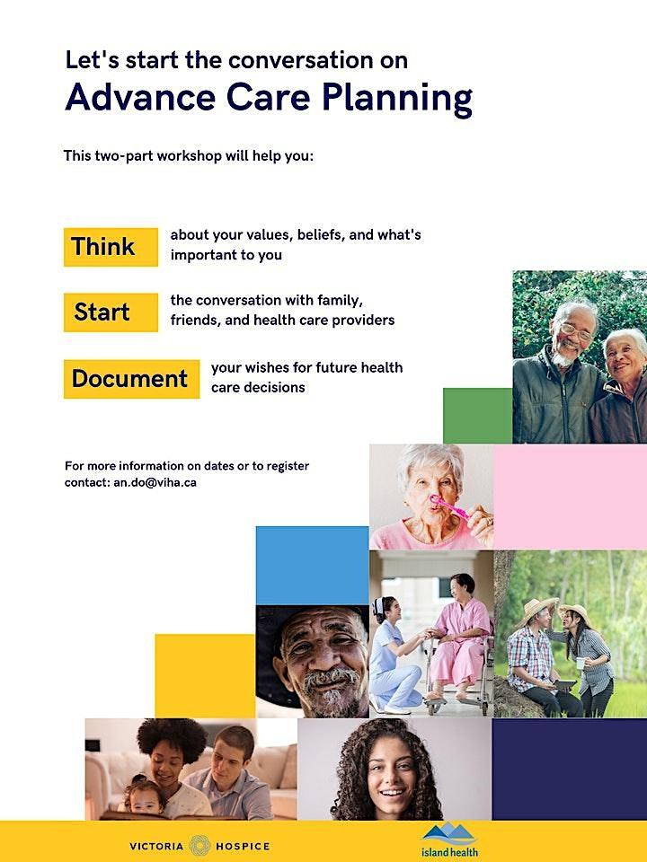 Advance Care Planning Workshop - October image