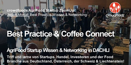 AgriFood Startup #BestPractice  #ZoomUp Vol. 20:  Thema noch offen Tickets