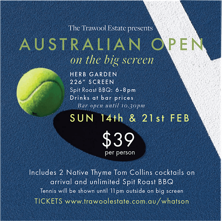 Australian Open @ The Trawool Estate image