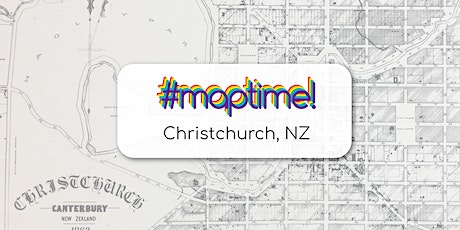 Carto and Tell - #MapTimeChristchurch January Meetup tickets
