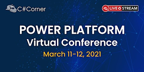 C# Corner Power Platform Virtual Conference tickets