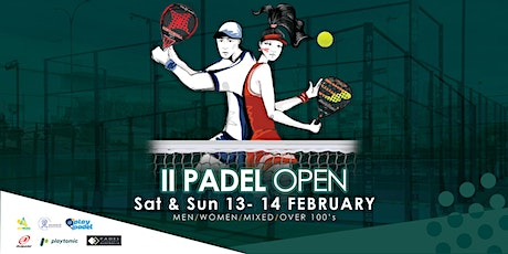 II PADEL OPEN tickets