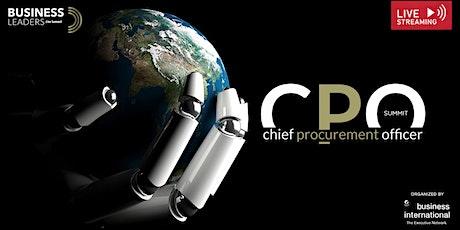 CPO Summit 2021 biglietti