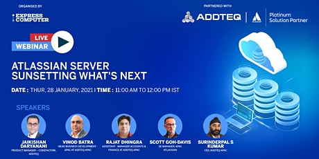 Atlassian server sunsetting what's next tickets