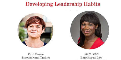 Cath Brown - Developing Leadership Habits tickets