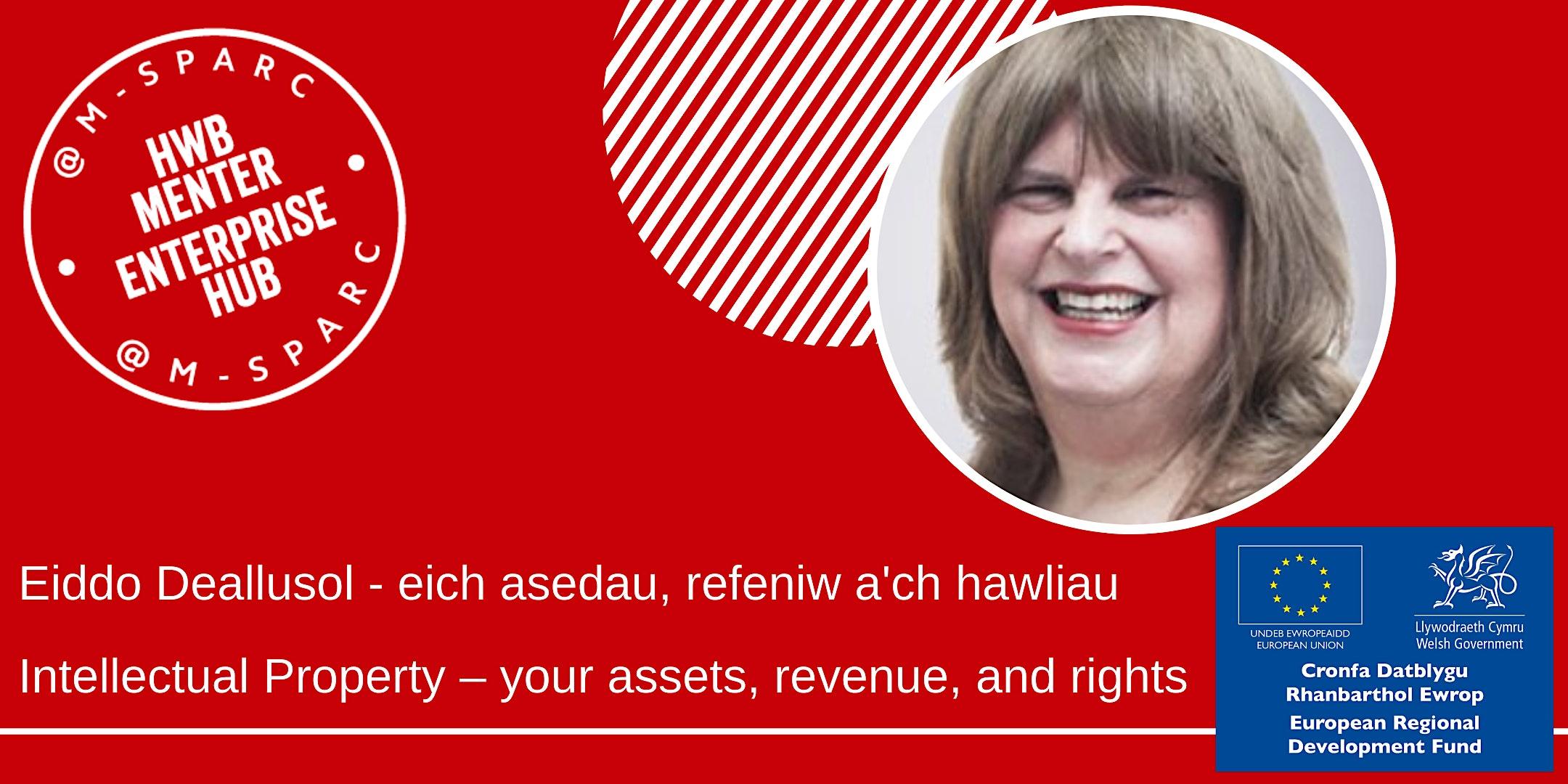 Eiddo Deallusol -  refeniw a'ch hawliau/ IP – revenue, and rights