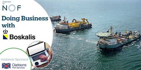 Doing Business with Boskalis Webinar tickets