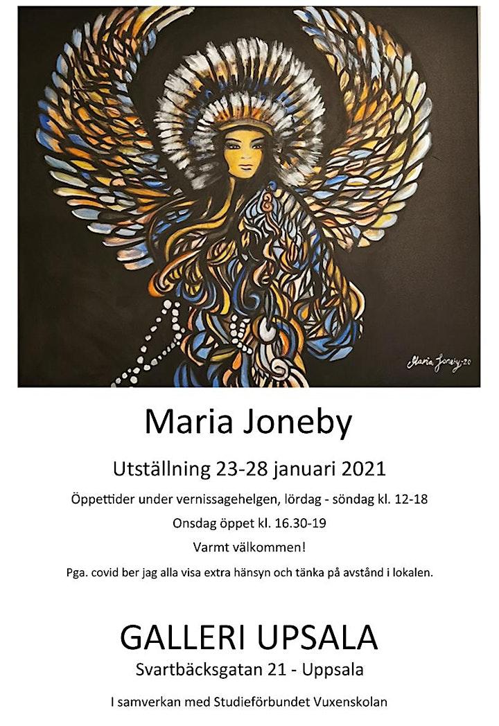 Maria Joneby - Utställning på Galleri Upsala 23-28 januari 2021 bild