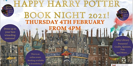 Athy Library Presents: Harry Potter Book Night 2021! tickets