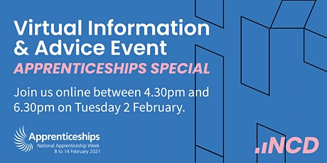 Virtual Information & Advice -  02 February  2021 tickets