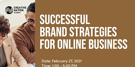 Successful Brand Strategies for Online Business tickets