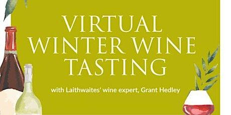 Virtual Winter Wine Tasting tickets