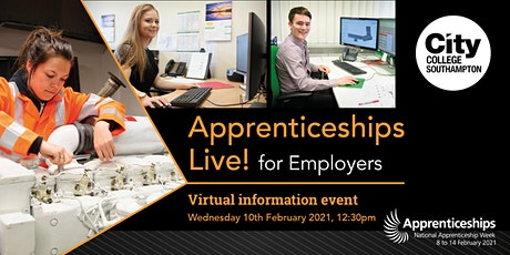 Apprenticeships Live! for Employers tickets