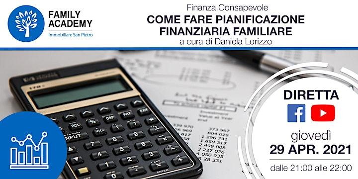 Immagine FINANZA CONSAPEVOLE: COME FARE PIANIFICAZIONE FINANZIARIA FAMILIARE