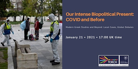Our Intense Biopolitical Present: COVID and Before tickets