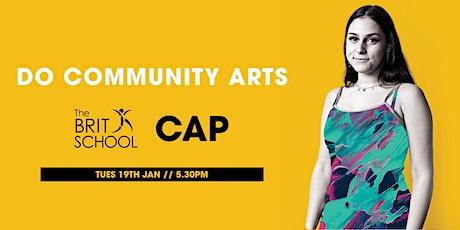 Do Community Arts tickets