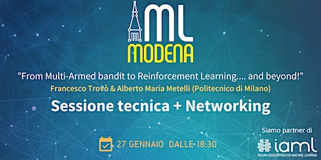 Machine Learning Modena Meetup Gennaio 2021 tickets