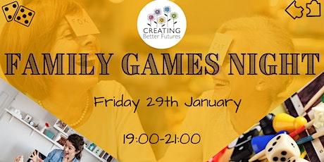 CBF Family Games Night tickets