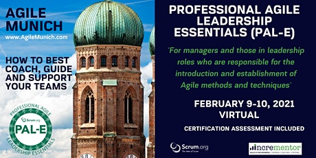Agile Munich | Certified Training | Professional Agile Leadership (PAL-E) tickets