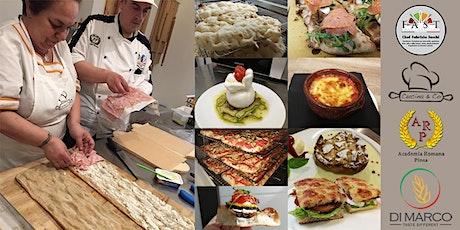 Corso di Pinsa, Teglia, gastronomia e dolci da banco biglietti