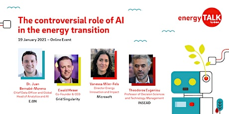 Energy Talk | The controversial role of AI in the energy transition tickets