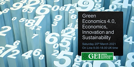 Green Economics 4.0 - Economics, Innovation and Sustainability tickets