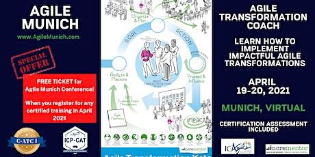 Incrementor   Certified Agile Transformation Coach I (C-ATC I) biglietti