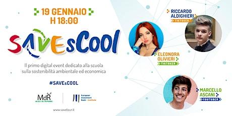 #SAVEsCOOL - Essere sostenibili è FICO biglietti