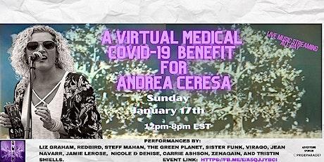 Medical Covid-19 Fundraiser for Andrea Ceresa tickets