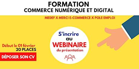Commerce numérique et digital - Conférence de rentrée billets
