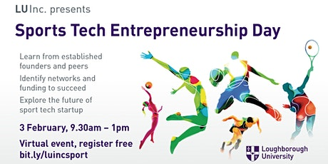 Sports Technology Entrepreneurship Day tickets