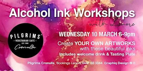 Alcohol Ink Workshops @ Pilgrims Cronulla tickets